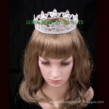 2016 Crystal Crown Rhinestone Fully Round Tiara